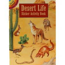 Desert Life Sticker Activity Book
