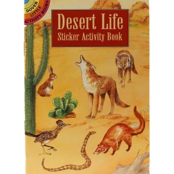 Desert Life Sticker Activity Book