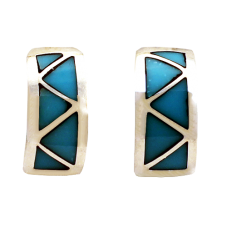 Turquoise Post Earrings