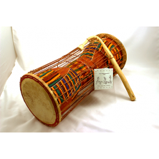 "15"" Kente Talking Drum"