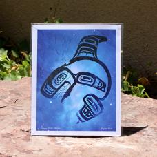 Print, Killer Whale