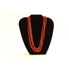 Four-Strand Coral Necklace