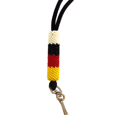 Tribal Color Medicine Wheel Lanyard