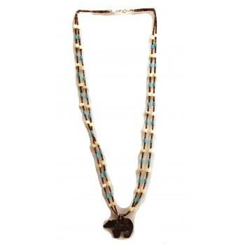 Bear Pendant Necklace