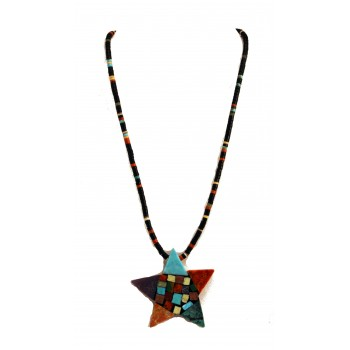 Star Mosaic Necklace