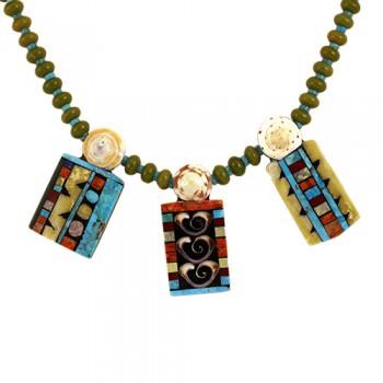Serpentine Mosaic Necklace