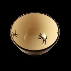 Mimbres-Inspired Lizard Design Bowl