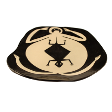 Mimbres-Inspired Fat Frog Plate